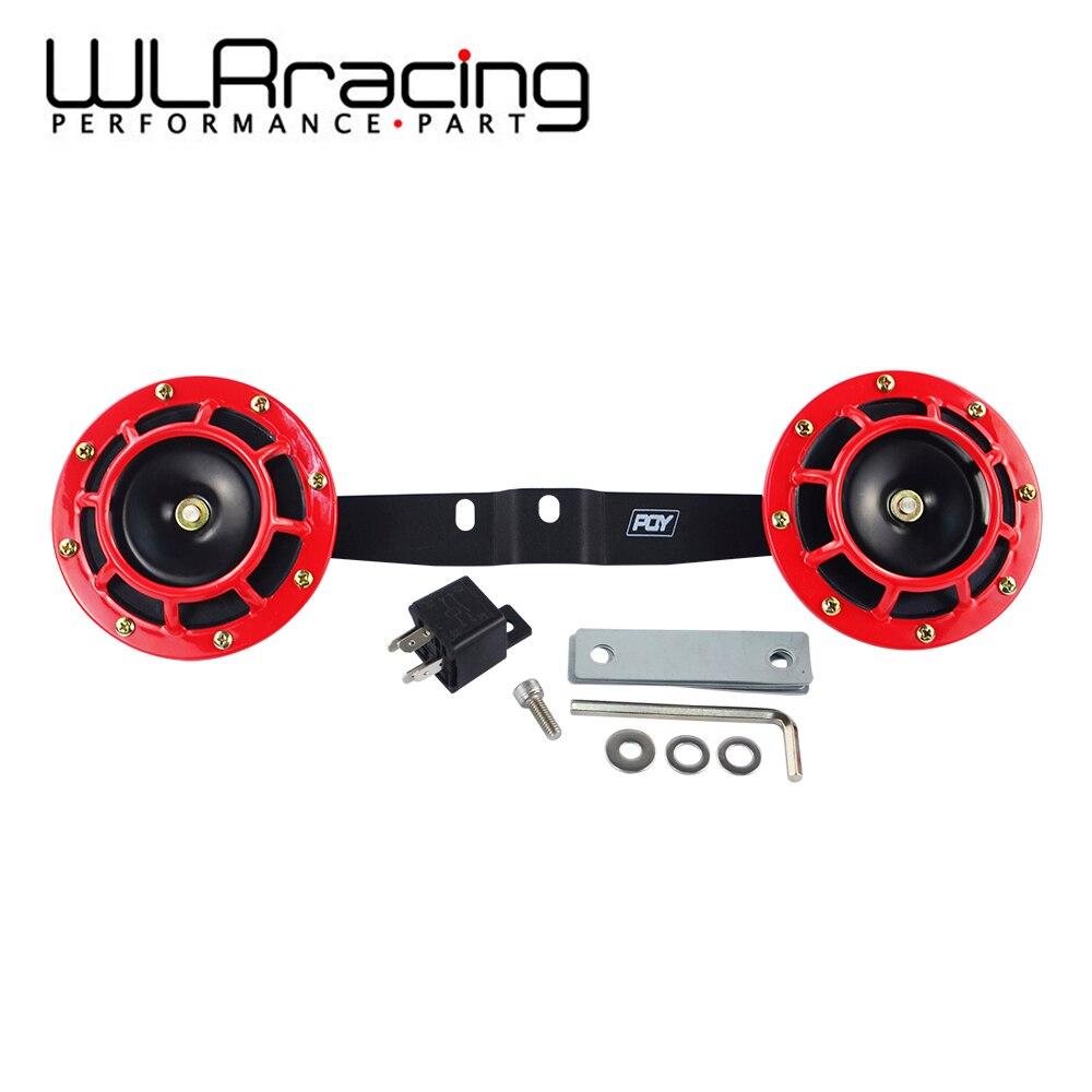 WLR - 2 шт., 12 В, 115 дБ, Hella, супер громкий компактный электрический звуковой сигнал, воздушный рожковый комплект с рожковым кронштейном для SUBARU WRX...