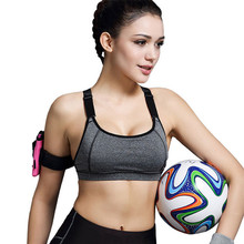 2016 Women Yoga Bra Sports Bra Running Gym Fitness Athletic Bras Padded Push Up Tank Tops For Girls and Women ropa deportiva