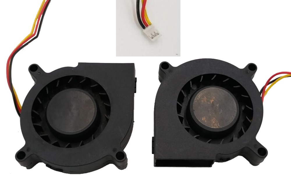 2 Pieces/lot DC Centrifugal Cooler Fan 60mm 12 Volt 60x60x15mm 6cm 6015 For Computer for sunon cooling fan mute fan aerocool 15 blade 1 56w mute model computer cpu cooling fan black 12 x 12cm 7v
