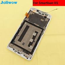 For Smartisan U1 YQ601 YQ603 YQ607 LCD Display  Touch Screen with frame+tools Digitizer Assembly Smartphone Replacement 5.5