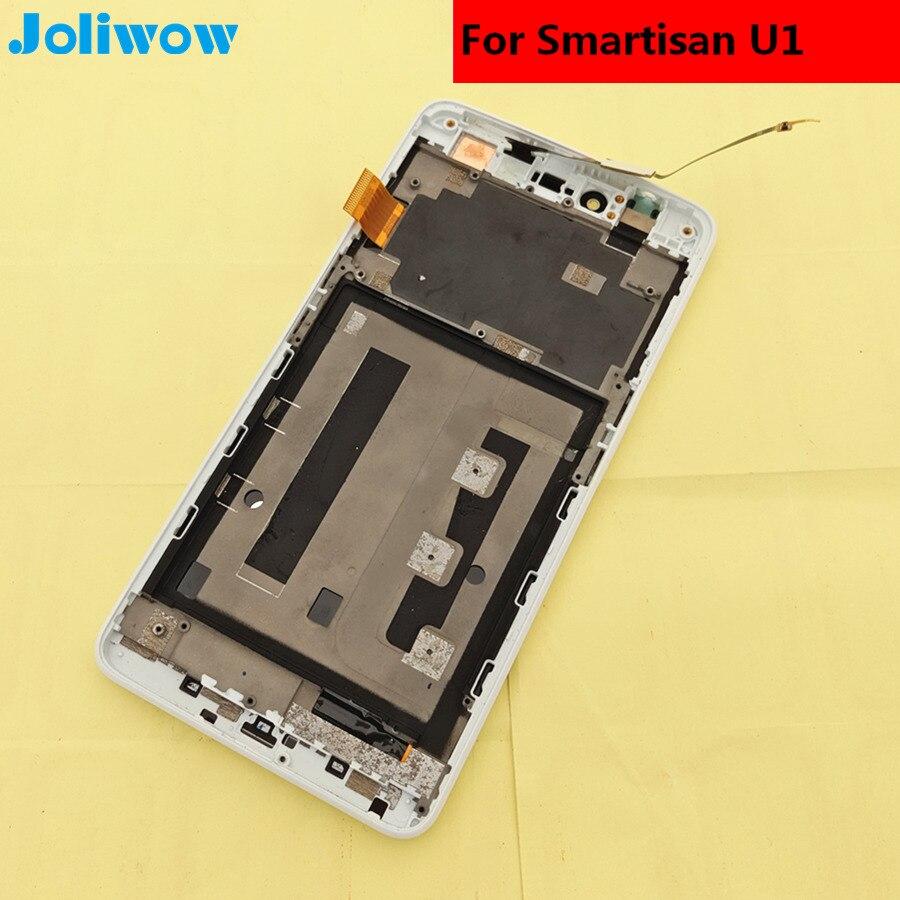 Pour Smartisan U1 YQ601 YQ603 YQ607 LCD Affichage à L'écran Tactile avec cadre + outils Digitizer Assemblée Remplacement Smartphone 5.5