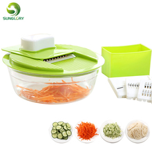 Multi Mandoline Vegetable Slicer Stainless Steel Cutting Grater Fruit Carrot Potato Cutter Creative Kitchen Gadgets