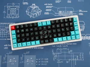 Image 3 - Mechanical keyboard Switch Mousepad cherry 900 400 4 mm non Stitched Edges Soft/Rubber High quality