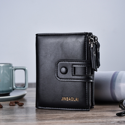 New 2019 JINBAOLA Men Wallet B…