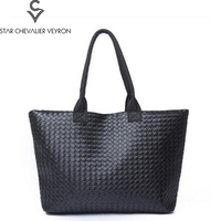 2017 New Type High Quality Pu Leather Women Handbags Fashion Trend Women Shoulder Bags Simple Solid