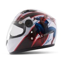 Spider-Man Crash Helmet Environmental Children Helmet 2015 Motorcycle Helmet Full Face Fiber Tasteless Spider-Man Crash Helmet