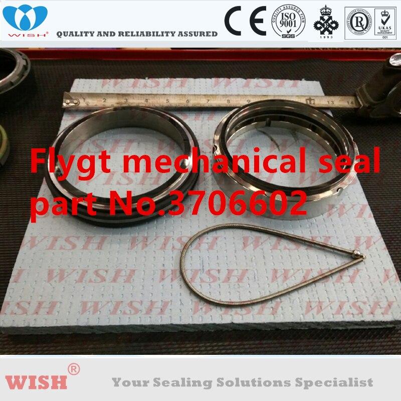 Exterior selo mecânico Flygt bomba número da peça 370 66 02 inferior selo 3706601, 370 60 01