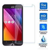 0.3mm Tempered glass for asus zenfone 2 laser ze500kl ze500kg zenfone2 lazer 500kl screen protector 9h hardness 5.0 inch film все цены