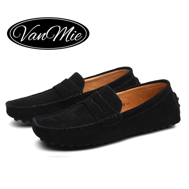 Vanmie Fashion Casual Men Shoes Genuine