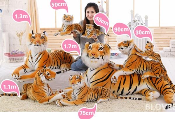 tiger size
