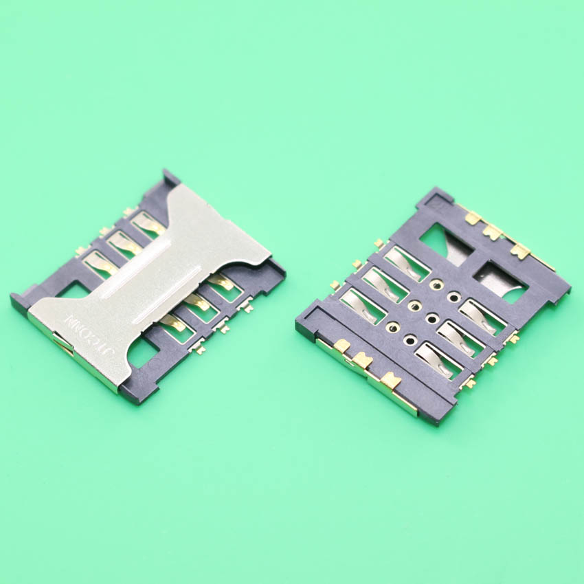 2pcs/lot 100% New SIM Card Socket Holder Tray Slot for Lenovo A398T A628T A388t ma388t A238T A688T a208t a300t S920 S890 S898T