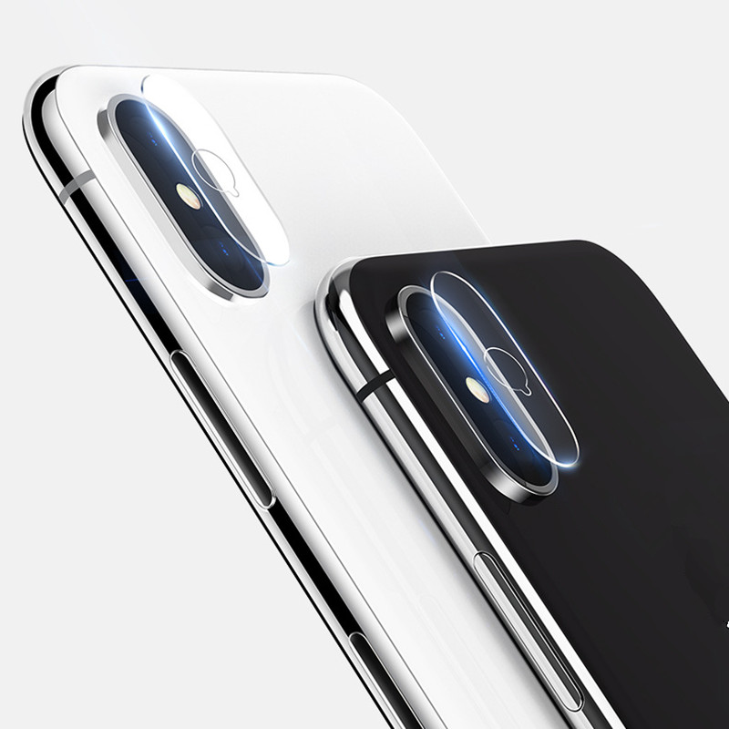 3Pcs NEW Camera Screen Protector for iphone X AILKIN 7H 2.5D Anti-Scratch Untra Thin tempered glass Film For iphone 8 8 plus