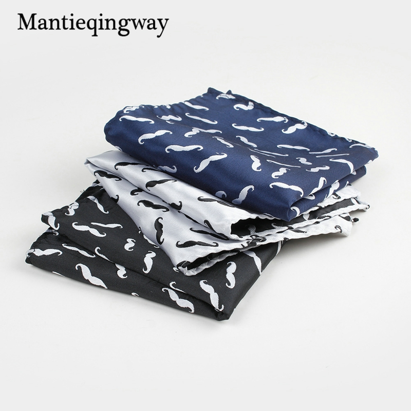 Polyester 25*25cm Jacquard Pocket Sqaure For Men Handkerchief For Wedding Suits Mens High Quality Chest Towel Gift