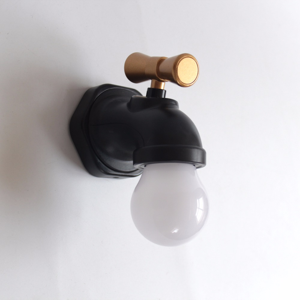 Decorative faucet looking led night light atmosphere lamp for home ...