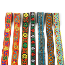 Multicolored Color Handmade Ethnic Lace Ribbon Fabric Embroidery DIY Accessories Costume Curtain Cushion Decorative