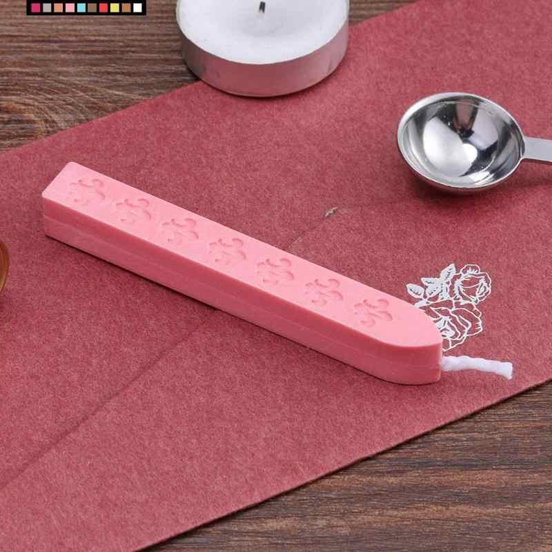 Retro DIY Sızdırmazlık Şeritleri Mühür Mumu Sopa için Boya Pullar Zarf Mektup