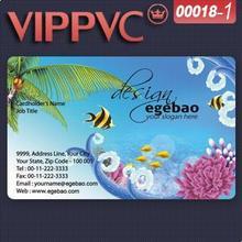 ПВХ белый пластик 0,38 мм полноцветный односторонний хорошего качества визитная карточка a0018-1
