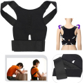 Back Posture Therapy Corrector Support Correction Lumbar Shoulder Brace Belt