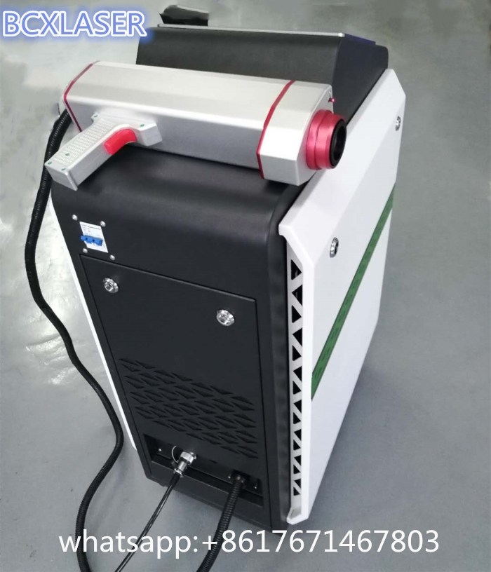 Wuhan good quality best service fiber Laser Cleaning Machine for rust/oil/paint removal on sale