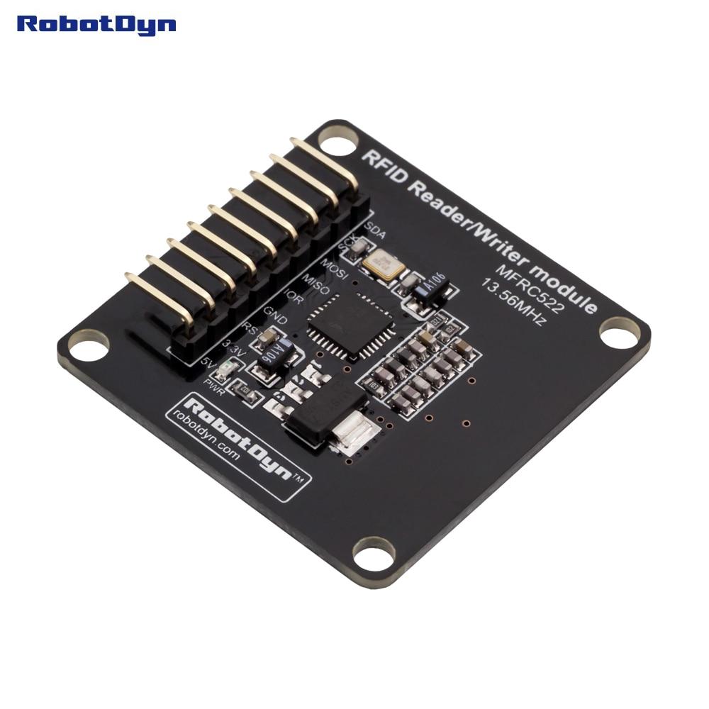 Compact RFID Reader/Writer and NFC module, MFRC522(13.56MHz). Power 5V/3.3V. For Arduino, Raspberry, ARM STM. Воблер YoZuri L-Minnow тонущ