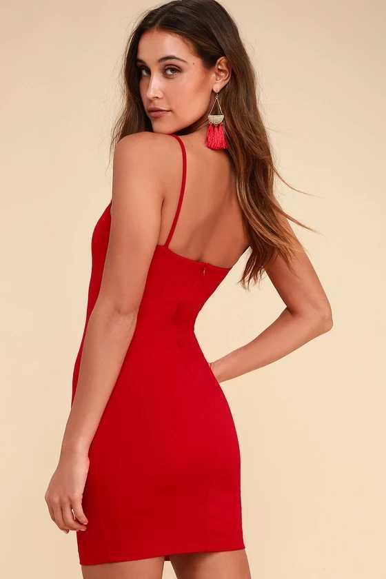 2019 недорогой ремень прямая горловина квадратный вырез повязки красные вечерние платья светящимся принтом для клубных вне на выход мини платье Для женщин сексуальные наряды
