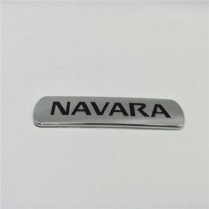 Для Nissan Navara задняя логотип эмблемы Frontier пикап D21 D22 D23 D40 Боковая дверь хромированная табличка
