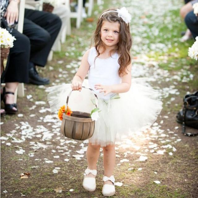 Flower Girl Tulle Skirt