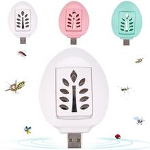 2017 New Electronic Rechargeable USB Mosquito Killer Repeller Fly Insect Repellent Destroyer Indoor/Outdoor Pest Control