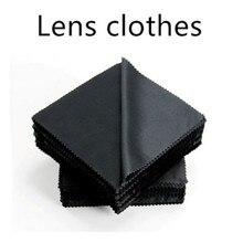 Lens Clothes 20 Pcs/lot Microfiber Eyeglasses Cloth Sunglasses Eyewear Specs Cleaning Glasses Black Clean 130mm*130mm