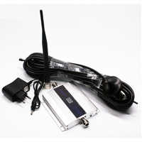 LCD Display Mini GSM 900MHz 2G UMTS 3G Repeater Booster 900 MHz Mobile Phone Signal Amplifier Kit + Indoor Outdoor Antenna