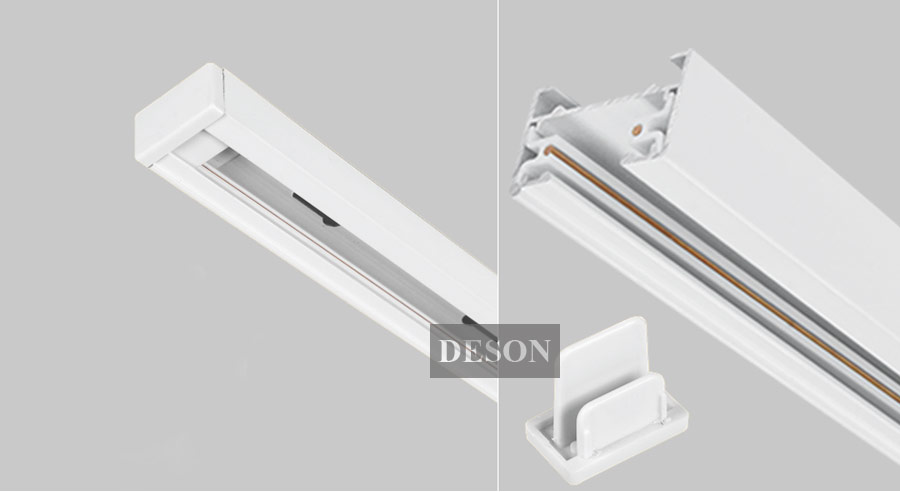 track lighting fitting. LED Track Light Rail Connector Lighting Fitting L Shape Led Connectors Aluminum Accessories Black White-in From Lights