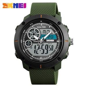 Image 3 - SKMEI New Outdoor Sports Watches Luxury Brand Digital Quartz Watch Men Waterproof Military Army Wrist Watch Relogio Masculino