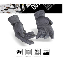 FuLang Cycling font b Gloves b font Fast drying colloidal particles full Finger for winter warm