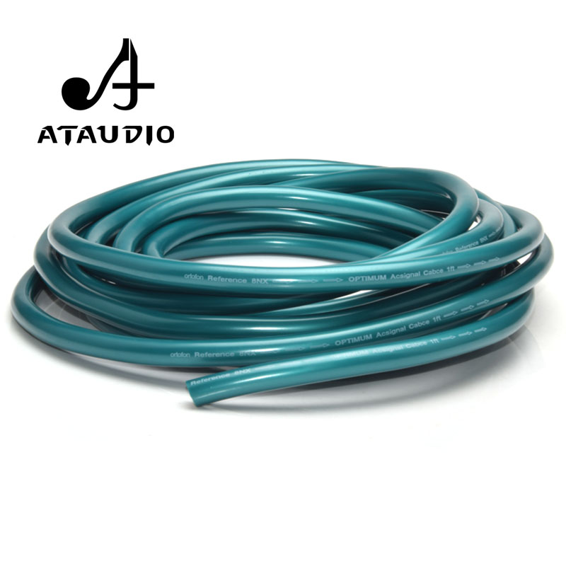 ATAUDIO Ortofon 8N OCC Hifi RCA XLR Bulk Cable For Diy High Pure Copper Audio Interconnect