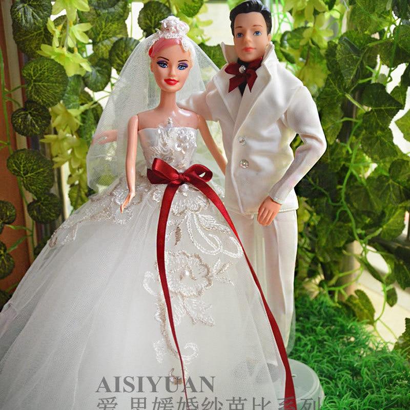 ... and-groom-Doll-wedding-dress-Wedding-car-decorations-Wedding-gift.jpg