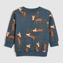 Little maven/ г. Осенняя брендовая одежда для мальчиков; детские толстовки и свитшоты для мальчиков; хлопковый с принтом животного; Детские свитшоты из флиса; C0173