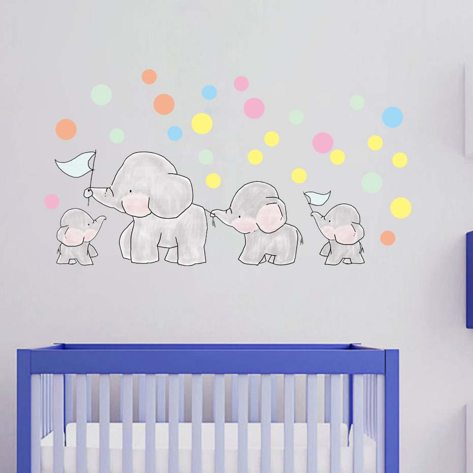 Cartoon Sticker For Nursery Bedroom