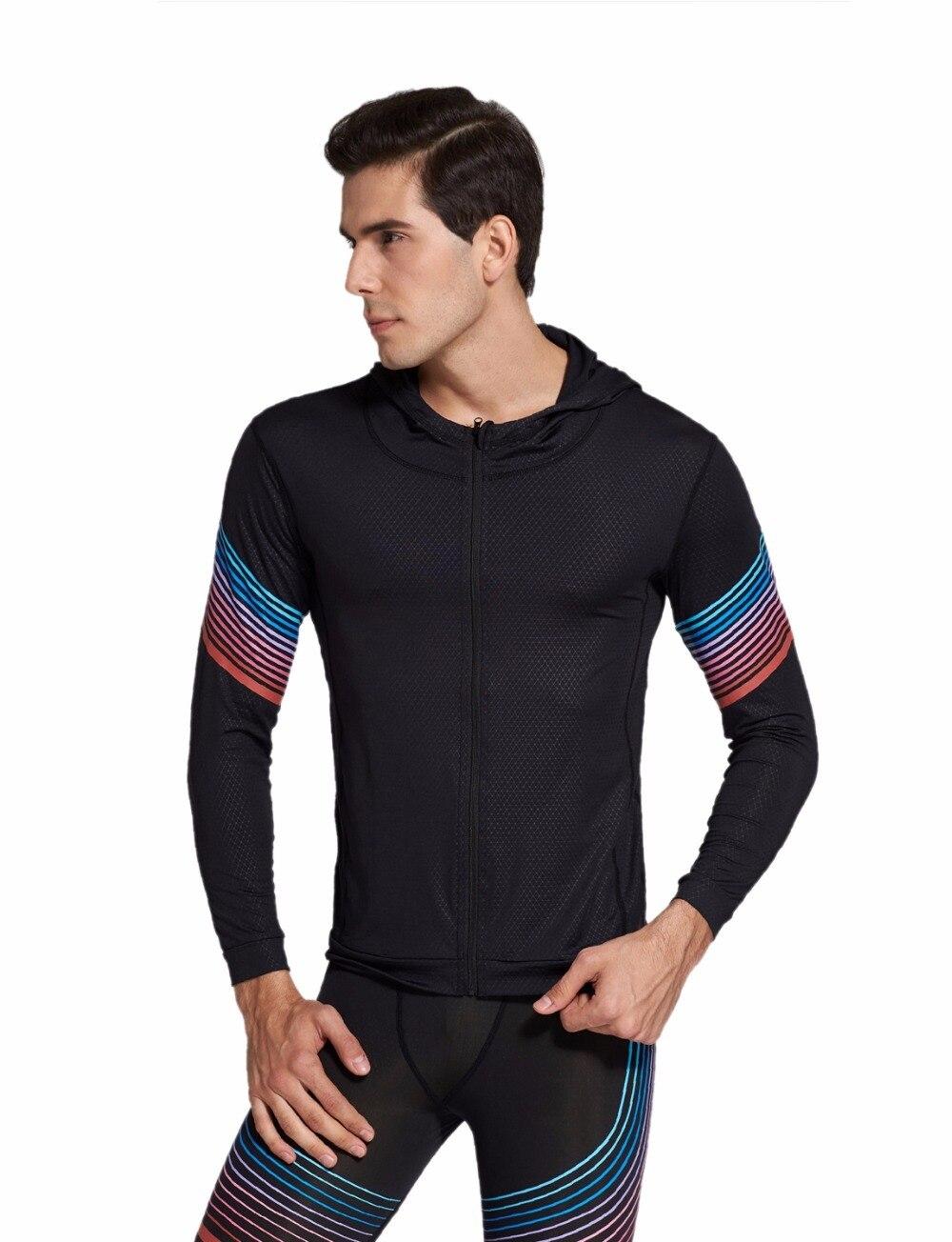 Zielstrebig Vihir Männer Grundlegende Full Zip-up Hoodie-sweatshirt Für Sport üPpiges Design Jacken