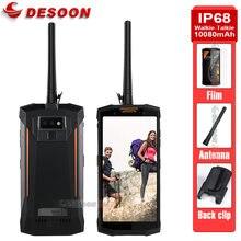 DOOGEE-walkie-talkie S80, impermeable, 10080mAh, Global, Dual, 4G, 12V, 2a, carga de 5,99 pulgadas, 6GB, 64GB, 12.0MP, cámaras duales, resistente al agua, IP68