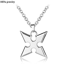 Cosplay Kingdom Hearts Alloy Pendent Necklace Cartoon Movie Sora X Pendants Darts Chain Men's Jewelry Accessories Wholesale