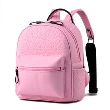 Модные женские туфли рюкзак Симпатичный мини-рюкзак женский высокое качество кожа небольшие рюкзаки для девочек-подростков