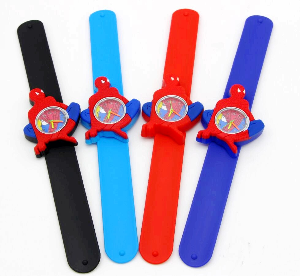 Children's Watches Cheap Price Spiderman Watches Children Cartoon Watch Kids Cool Slap Rubber Strap Quartz Watch Clock Hours Gift Relojes Relogio 2019 New Fashion Style Online