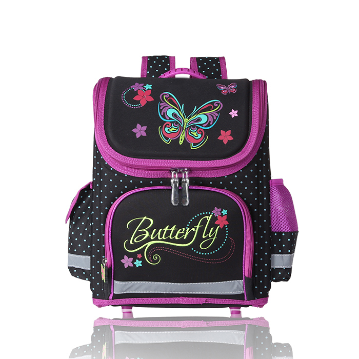 2a4670909391 wenjie brother Kids butterfly Schoolbag Backpack EVA Folded ...