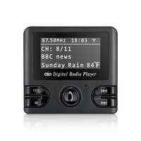 DAB Digital Radio Receiver FM Tuner Radio Bluetooth Tabletop Wireless Vehicle Broadcasting With FM Transmitter USB Charger