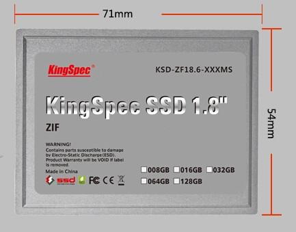 1.8 inch ZIF SSD -2