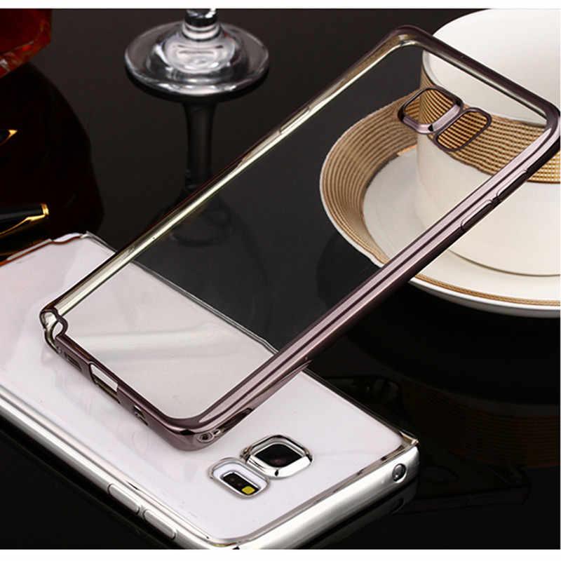 Caso para o iphone para Samsung Galaxy S5/S6/S6 borda/borda S6 Plus/S7/S7 borda 5 5S SE 6 6 S Plus Moda de Luxo de Alta Qualidade cobrir