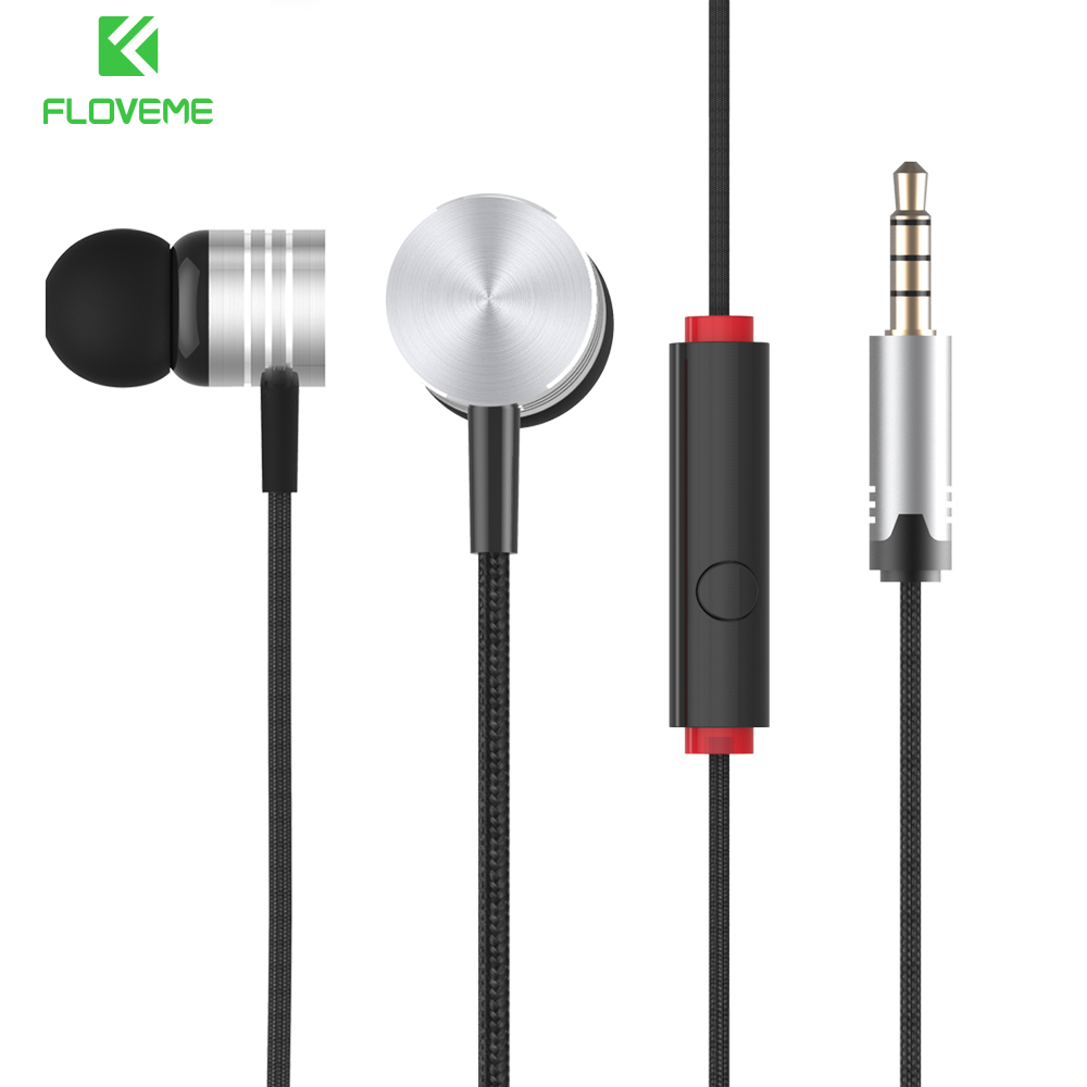 FLOVEME In-Ear Earphone Heavy Bass Sound Stereo Earbuds Wired Headset Phone Earpiece Earphone For Xiaomi Sony MP3 MP4 Earphones mifo r1 super bass wired earphone stereo music in ear earbuds 3 5mm microphone headset with mic for sport running earpiece xiomi