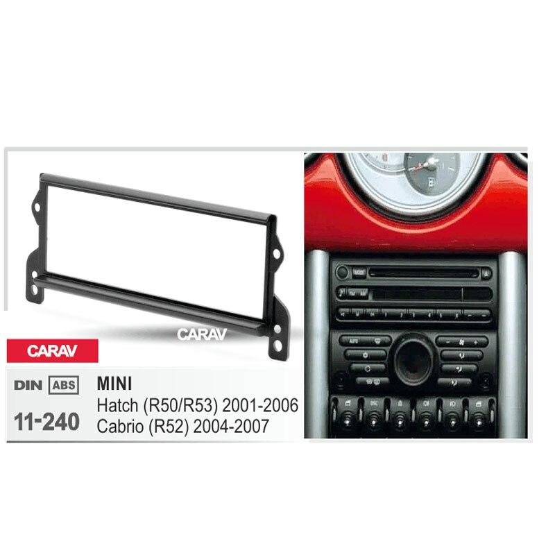 radio fascia for mini hatch r50 r53 2001 2006 cabrio r52. Black Bedroom Furniture Sets. Home Design Ideas