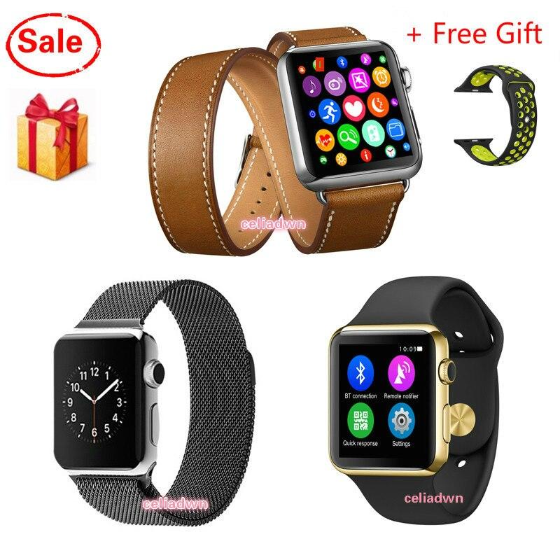 Smart Watch IWO 1 1 Upgrade 2 Generation Heart Rate Smartwatch IWO MTK2502c Bluetooth MP3 Player