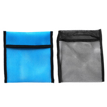 2pcs Empty Scuba Dive Snorkeling Weight Belt Pocket Mesh Shot Pouch Bag 2KG Safety Marker Buoy Mesh Gear Bag Equipment Holder magideal heavy duty mesh duffel bag storage pouch for scuba diving snorkeling black pink